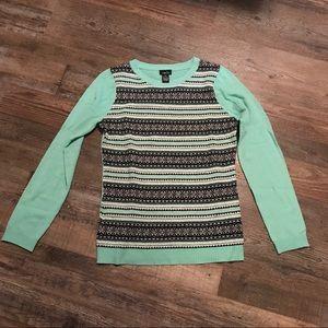Mint Green Pastel Sweater